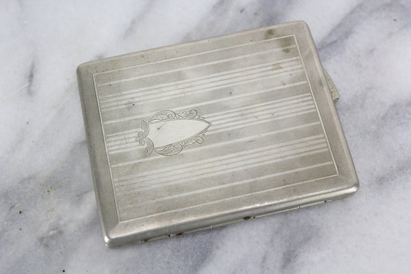 Taico Spring Loaded Cigarette Case, 1921