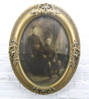 "Portrait Photograph of Two Scottish Soldiers in Bubble Frame - 18.5"" x 24.5"""
