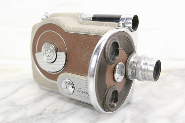 Revere Magazine Cine Sixteen Model 26 16mm Film Movie Camera