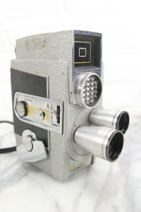 Revere Eye-Matic Spool Eight Model CA 2 8mm Film Movie Camera