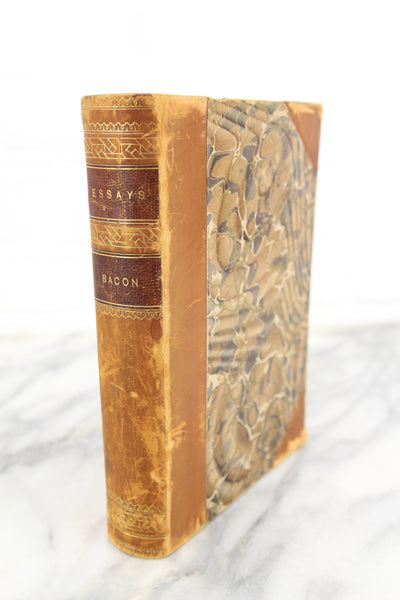 The Essays or Counsels Civil and Moral of Francis Bacon, Copyright 1890s