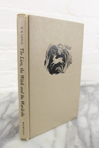 The Lion, The Witch and The Wardrobe by C.S. Lewis, Copyright 1950, Illustrated