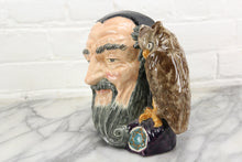 Load image into Gallery viewer, Merlin Royal Doulton Toby Character Jug D6529, Copyright 1959