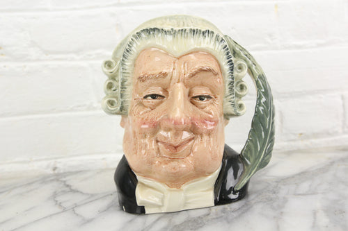 The Lawyer Royal Doulton Toby Character Jug D6498, Copyright 1958