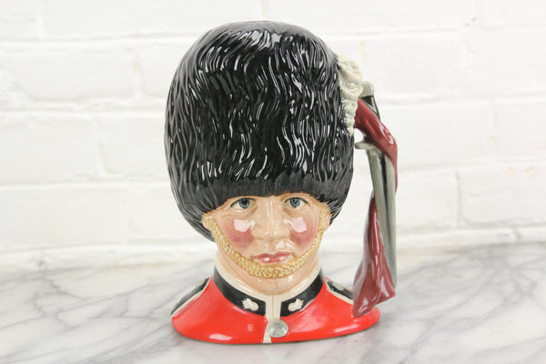 The Guardsman Royal Doulton Toby Character Jug D6755, Copyright 1986