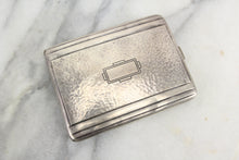 Load image into Gallery viewer, Sterling Silver Cigarette Case by George K. Webster Silver Company