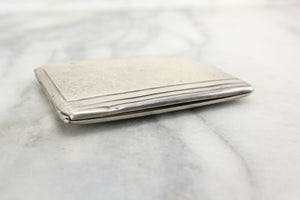 Sterling Silver Cigarette Case by George K. Webster Silver Company