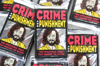 Eclipse Crime and Punishment True Crime Collectible Trading Cards, One Pack, 1992