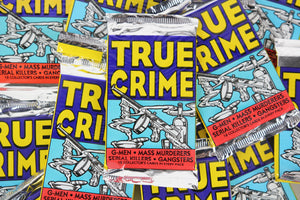 Eclipse True Crime Collectible Trading Cards, One Pack, 1992