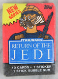 Topps Star Wars Return of the Jedi Series 2 Collectible Trading Cards, One Wax Pack, Lando Calrissian Wrapper, 1983