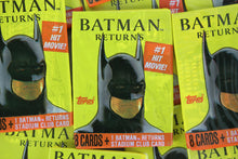 Load image into Gallery viewer, Topps Batman Returns Photo Cards Collectible Trading Cards, One Pack, 1991