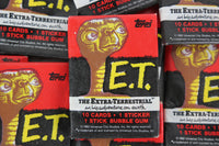 Topps E.T. The Extra-Terrestrial Collectible Trading Cards, One Wax Pack, 1982