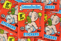 Topps Garbage Pail Kids 11th Series Collectible Trading Card Stickers, One Wax Pack, 1987