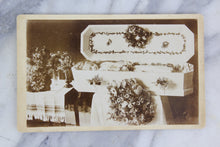 Load image into Gallery viewer, Postmortem Cabinet Card Photograph of a Little Girl in a White Coffin