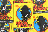 Topps Dick Tracy Collectible Trading Cards, One Wax Pack, 1990