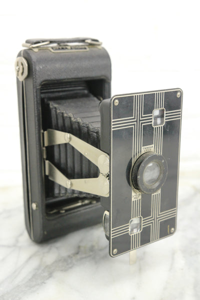 Eastman Kodak Jiffy Kodak Six-16 Art Deco Folding Camera