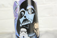 Star Wars 1977 Darth Vader Burger King Coca-Cola Glass Cup