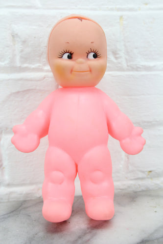 Pink Rubber Kewpie Doll by Cameo, 1963, 8