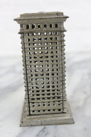 Architectural Tower Cast Iron Still Bank