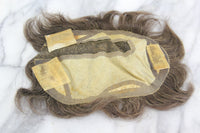 Antique Toupee with Two Boxes of Bambina Toupee Plaster