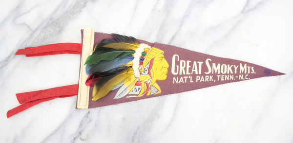 Great Smoky Mountains National Park Souvenir Pennant - 11.5""