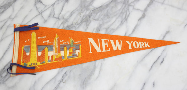 New York City, New York Souvenir Pennant - 25.5""