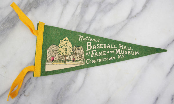 National Baseball Hall of Fame, Cooperstown, N.Y. Souvenir Pennant - 12""