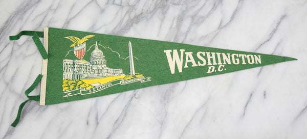 Washington, DC Souvenir Pennant - 26""