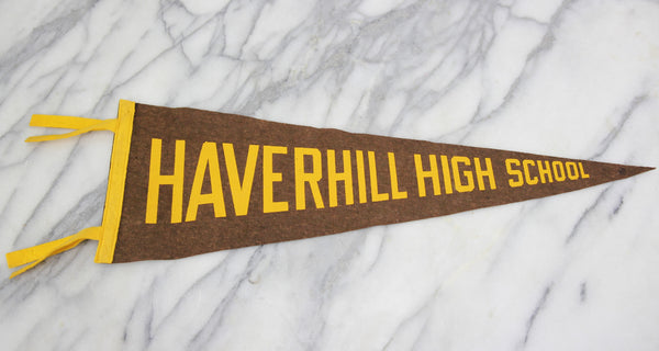 Haverhill High School, Haverhill, Massachusetts Souvenir Pennant - 23""