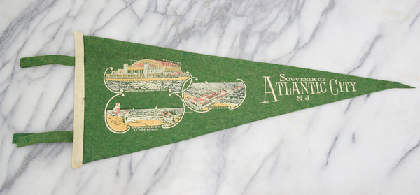Atlantic City, New Jersey Souvenir Pennant - 27""