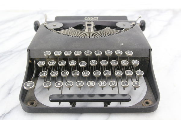 Remington Rand Cadet Model 4B Portable Typewriter, 1938