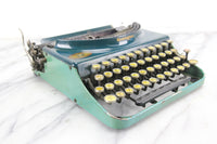 Remington Portable #3 (Blue and Teal), Made in USA, 1929