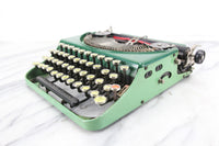 Remington Portable #2 (Green and Seafoam), Made in USA, 1928