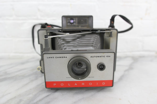 Polaroid Land Camera Automatic 104 Folding Instant Camera