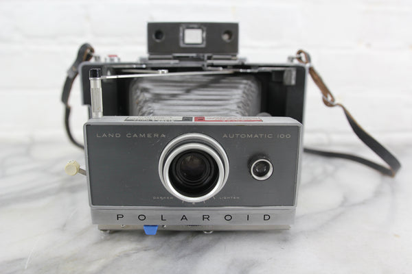 Polaroid Land Camera Automatic 100 Folding Instant Camera