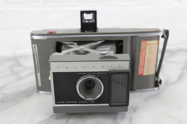 Polaroid Land Camera Model J66 Folding Instant Camera