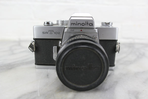 Minolta SRT-102 35mm SLR Camera with 50mm f/1.4 Lens