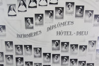 Nursing Graduates at Hôtel-Dieu, Paris, France Photo Print, 1951-1954 - 15 x 12""