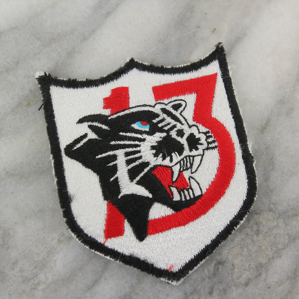 US Air Force 13th Tactical Fighter Squadron Panther Pack Embroidered Patch