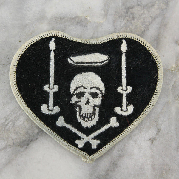 Knight of Death French WWI Pilot Charles Nungesser Personal Insignia Patch