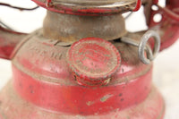 Dietz Comet Red Boy Scouts Kerosene Oil Lantern, Made in USA