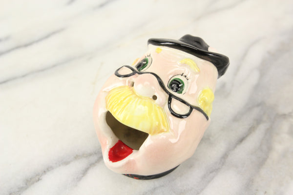 Gesundheit Sneezing Old Man Head Smoker Ashtray