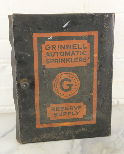 Grinnell Automatic Sprinklers Reserve Supply Spirnkler Head Box