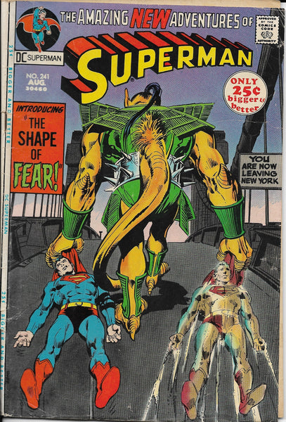 The Amazing New Adventures of Superman No. 241, DC Comics, August 1971