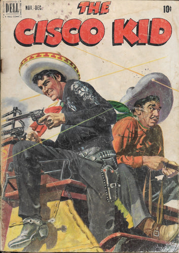 The Cisco Kid No. 6, Dell Comics, Nov-Dec 1951