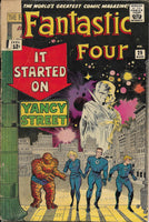 "Fantastic Four No. 29, ""It Started on Yancy Street,"" Marvel Comics, August 1964 - MISSING CORNER"