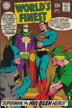 Load image into Gallery viewer, World's Finest No. 178 Starring Batman and Superman, DC Comics, September 1968