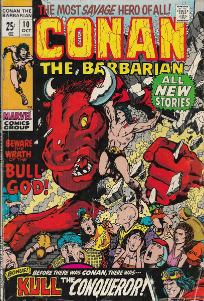 Conan the Barbarian No. 10, Marvel Comics, October 1971