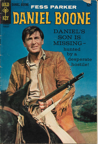 Daniel Boone No. 12, Gold Key Comics, February 1968