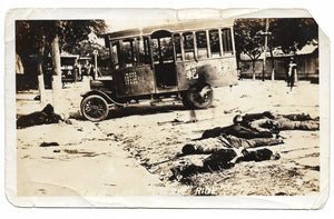 Chinese Execution Photo #7 - Dead Victims by Car